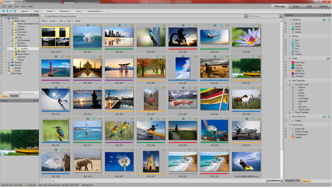 ACDSee Photo Manager 14.0.110 英文原版