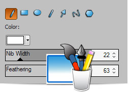 ACDSee 14 drawing tools
