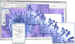 Canvas 14 raster tools