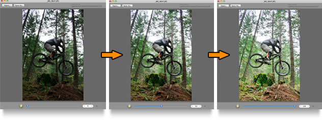 LCE applied to a photo shows dramatic improvements