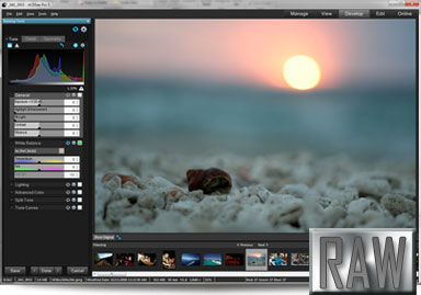 ACDSee Pro 5 raw file processing