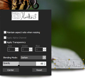 Add watermarks to your photos with ACDSee Pro 5