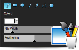 ACDSee Pro 5 drawing tools