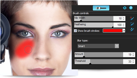 Photo editing tools in ACDSee Pro 6