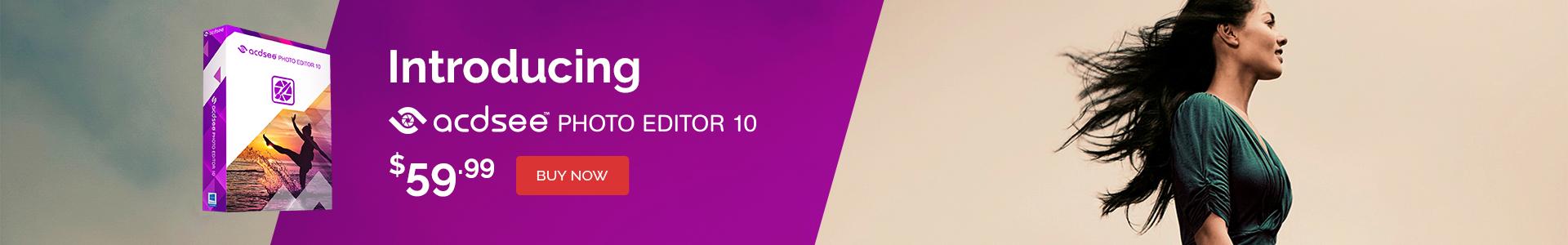 Photo Editor 10 banner