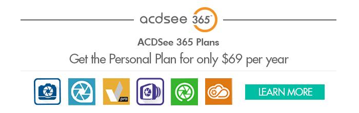 ACDSee 365 Personal Plan