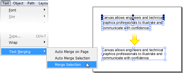 Canvas 15 Tightened Text Workflow