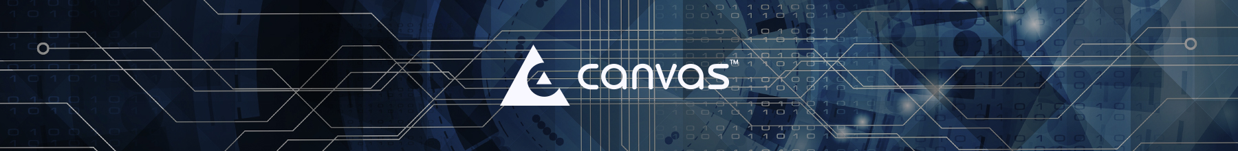 CanvasX product banner