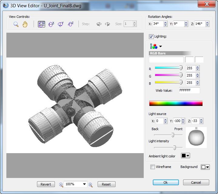 View The 3d Object In The 3d View Editor