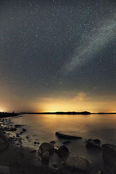 Night Sky - Beach