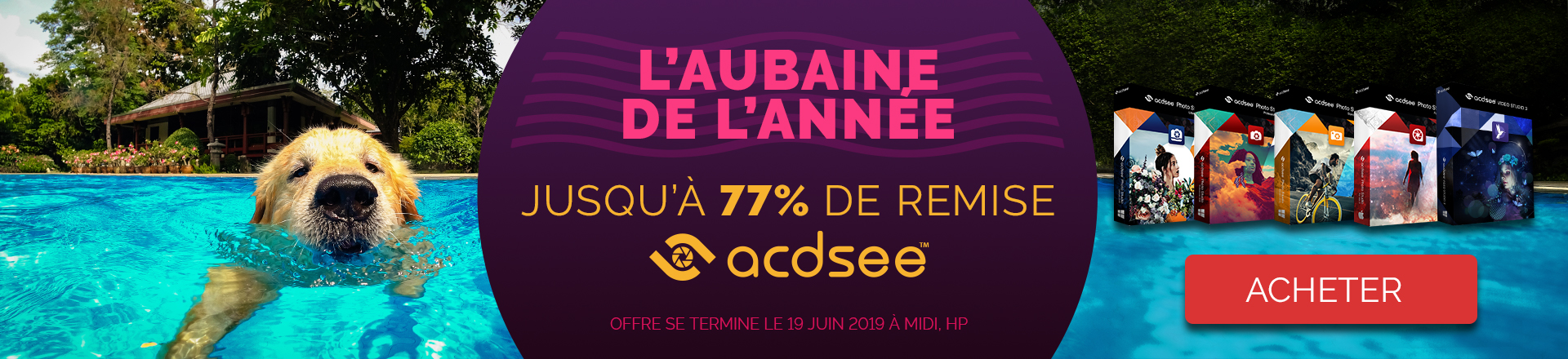 ACDSee New Campaign banner